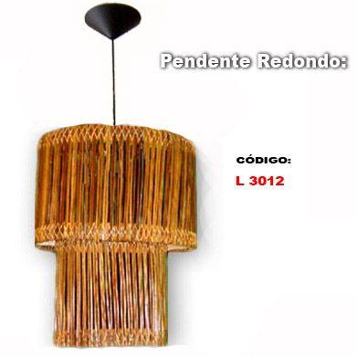 Lustre artesanal Itacaré-ba - Loja de luminariaartesanal